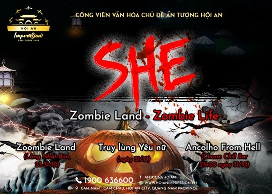 Ma mị với khu nhà Zombie Land.
