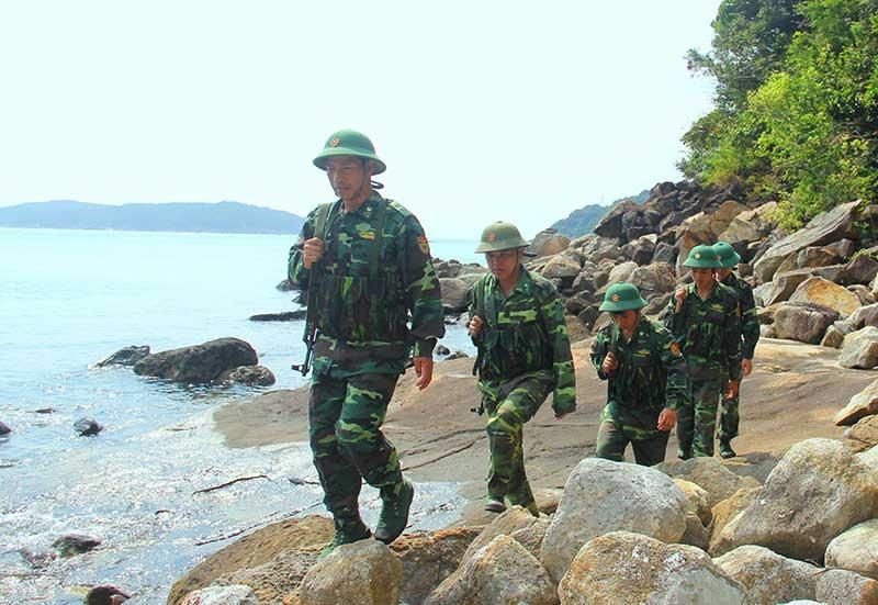 Công tác tuần tra, bảo vệ của lực lượng biên phòng được duy trì thường xuyên, góp phần thực hiện Chỉ thị 01 đạt hiệu quả.