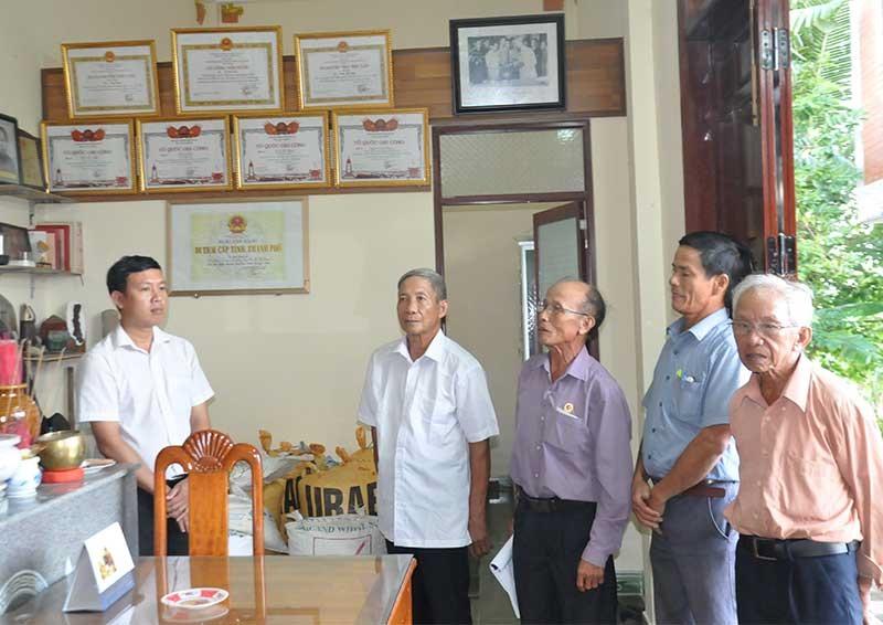 Cơ sở cách mạng nhà mẹ Lê Thị Sưu đã được công nhận là Di tích lịch sử cấp tỉnh.