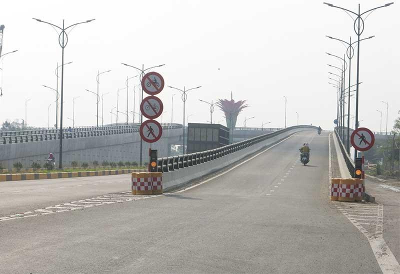 Đường Điện Biên Phủ nối 129 lên đường cao tốc Đà Nẵng - Quảng Ngãi là một trong những dự án giải ngân 0%. Ảnh: T.D