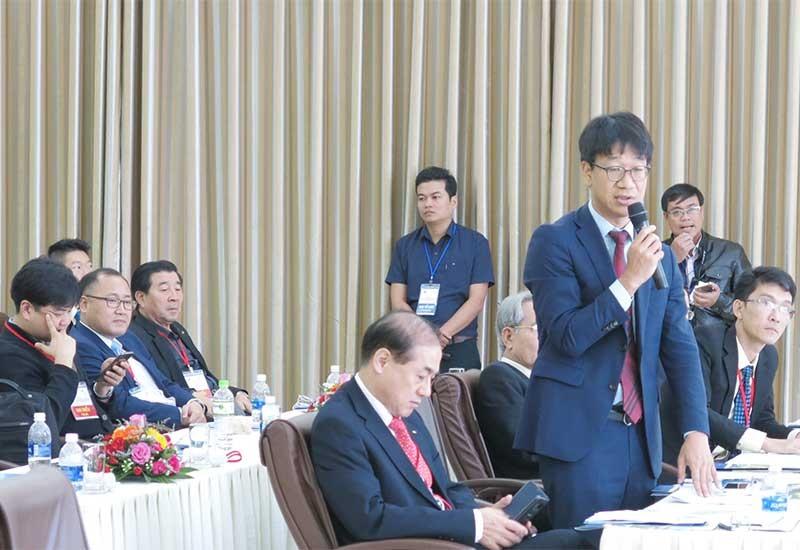 Các nhà đầu tư Hàn Quốc từng đến Quảng Nam tìm kiếm cơ hội hợp tác đầu tư thông qua các cuộc xúc tiến đầu tư của địa phương. Ảnh: T.D