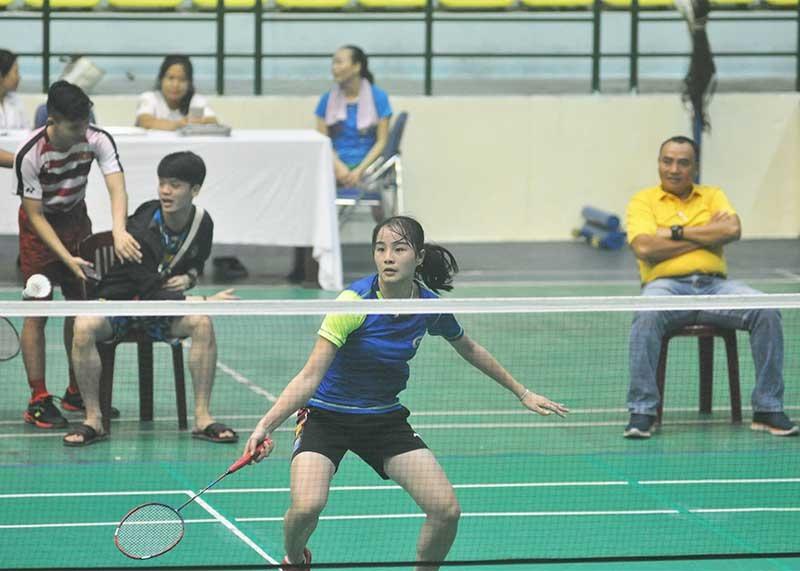 Tay vợt mới 16 tuổi Nguyễn Thị Hải Nhi (Tiên Phước) vô địch đơn nữ. Ảnh: T.V