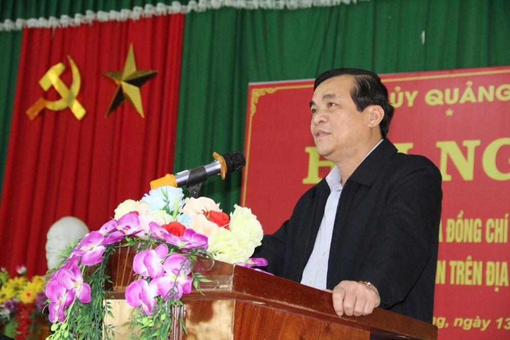 Bí thư Tỉnh ủy Phan Việt Cường trả lời những nội dung kiến nghị của người dân Nam Giang. Ảnh: A.N