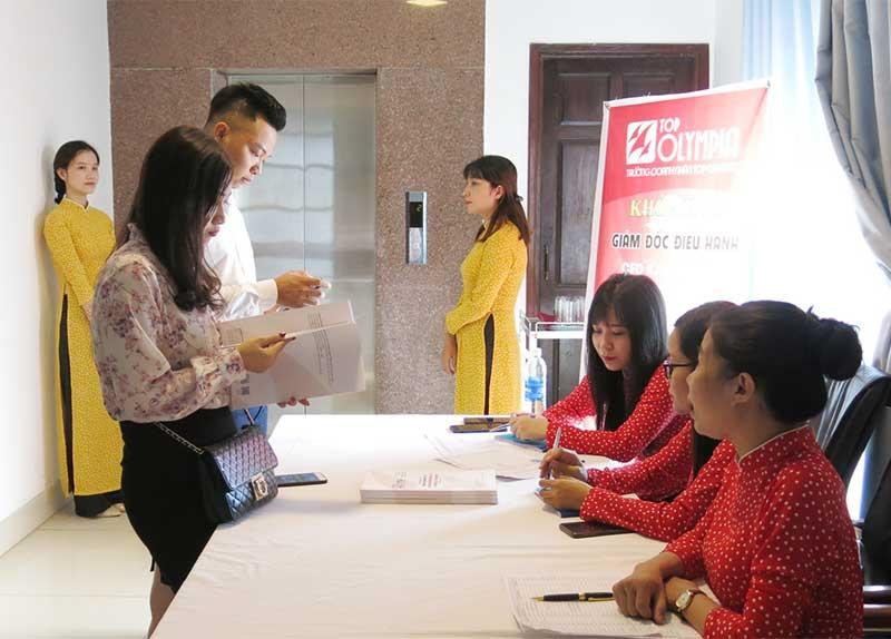 Hỗ trợ mở lớp đào tạo nâng cao kỹ năng doanh nghiệp... là một trong những hoạt động nhằm nâng cao chỉ số PCI của Quảng Nam. Ảnh: T.D