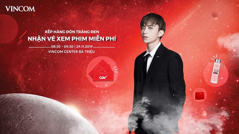 Ca sĩ Soobin Hoàng Sơn làm nóng không khí xếp hàng săn sale Black Friday tại Vincom Center Bà Triệu