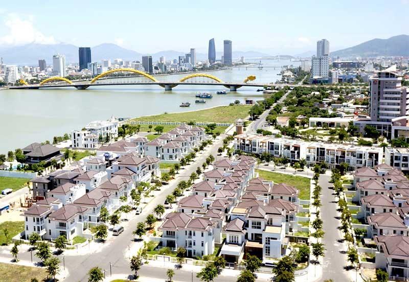 Thị trường bất động sản du lịch Đà Nẵng vẫn tăng trưởng mạnh. Ảnh: N.T.B