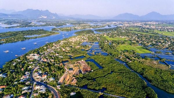 Khu dự trữ sinh quyển thế giới Cù Lao Chàm - Hội An. Ảnh: Ban Quản lý Khu bảo tồn biển Cù Lao Chàm