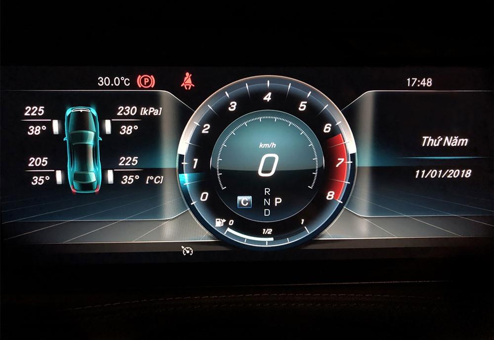 Thường xuyên kiểm tra các thông số về áp suất lốp xe.