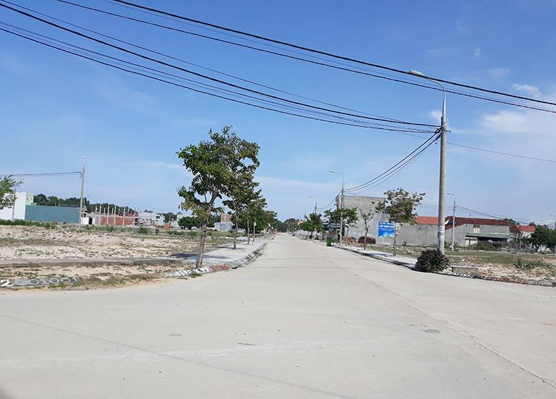 Đất dự án khu dân cư Bộ đội 270 xã Tam Phú giảm sau thời gian sốt giá.