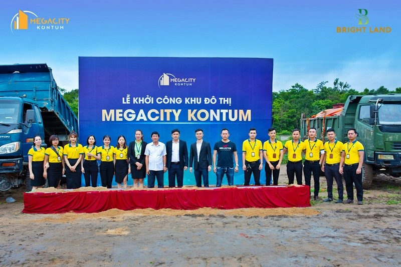 Lễ khởi công dự án Đô thị Megacity Kon Tum.