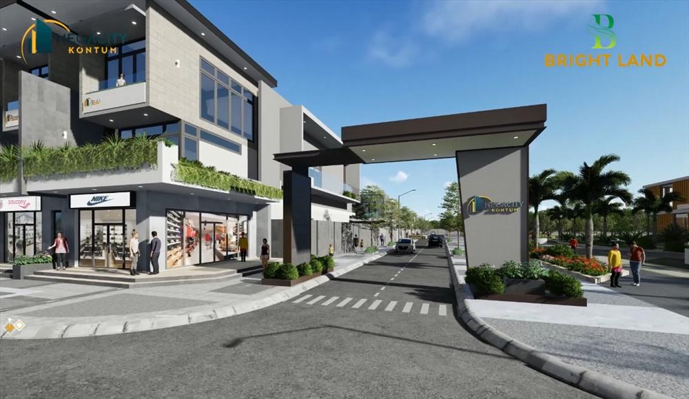 Bright Land chính thức nhận đặt chỗ Megacity Kon Tum phân khu The Central.