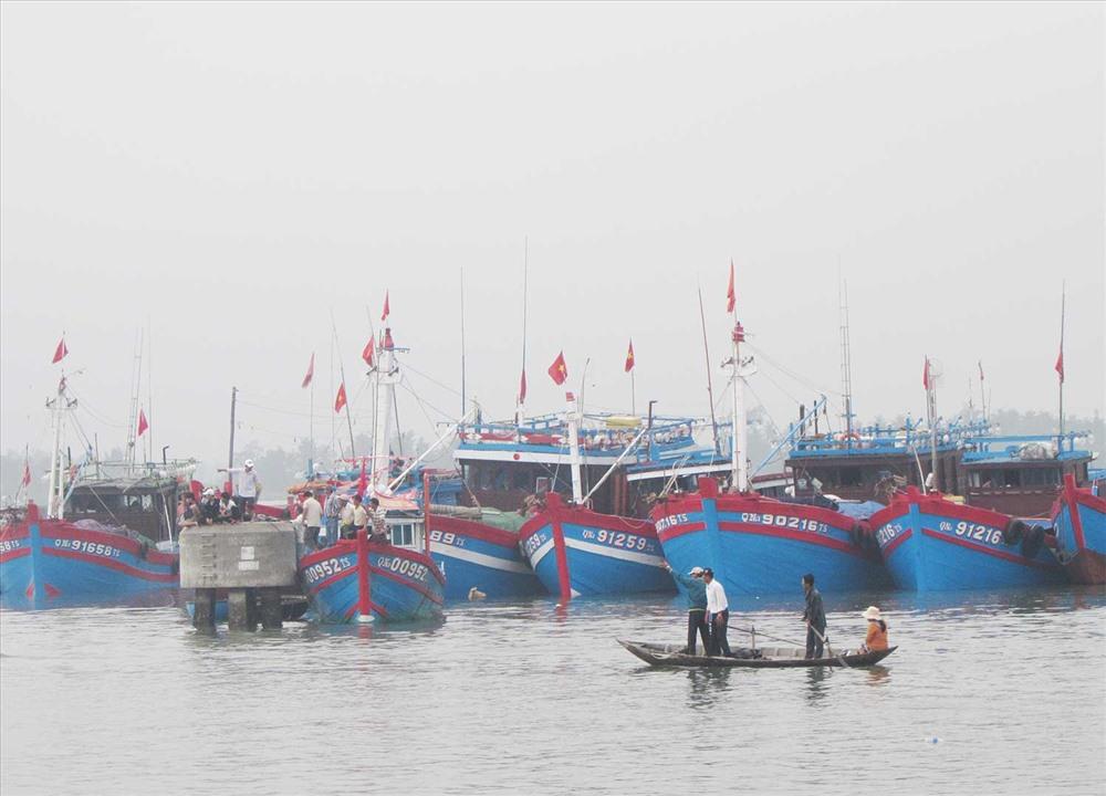 Tàu cá Tam Quang. Ảnh: VĂN PHIN
