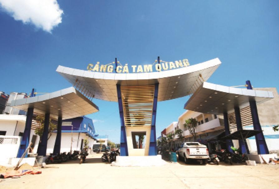 Cảng cá Tam Quang. Ảnh: T.C