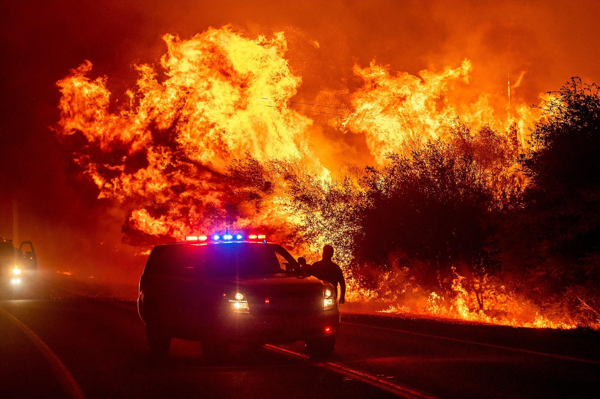 Cháy rừng vẫn hoành hành tại nhiều nước trên thế giới. Ảnh: AP
