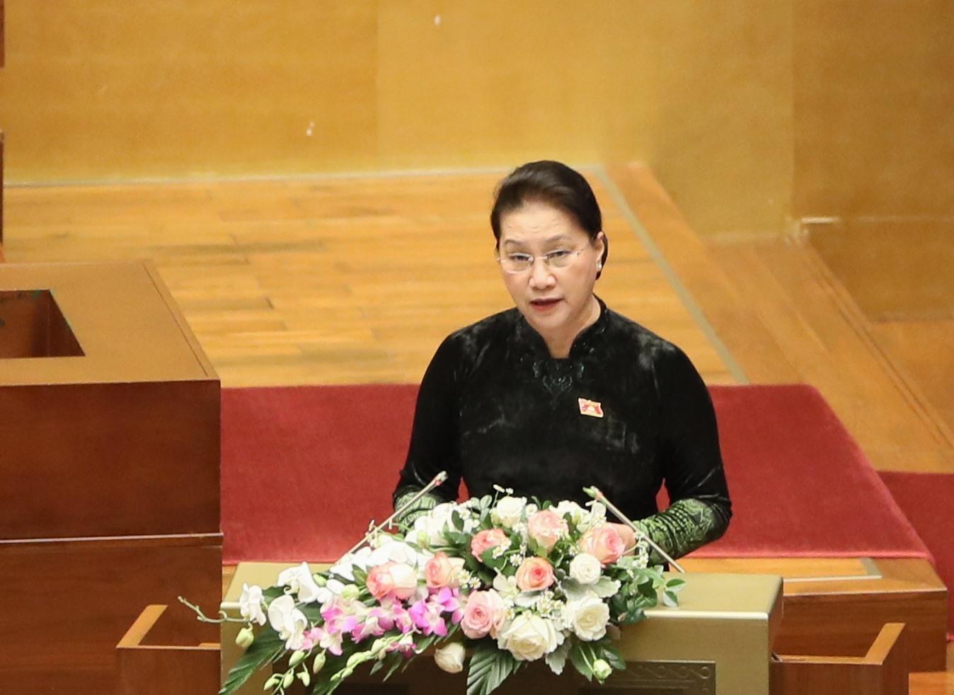 Chủ tịch Quốc hội Nguyễn Thị Kim Ngân. Ảnh: VG/Nhật Bắc