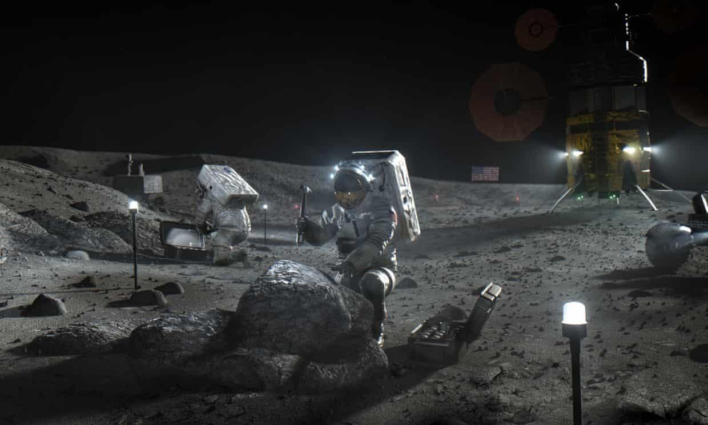 Các phi hành gia có thể sẽ phải đợi sau năm 2024 mới có thể quay lại Mặt Trăng. Ảnh: NASA