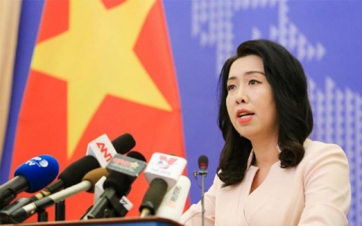 Foreign Ministry spokesperson Le Thi Thu Hang sasy ASEAN and its partners are concerned about the situation in the East Sea and want to achieve durable peace, stability in the region.
