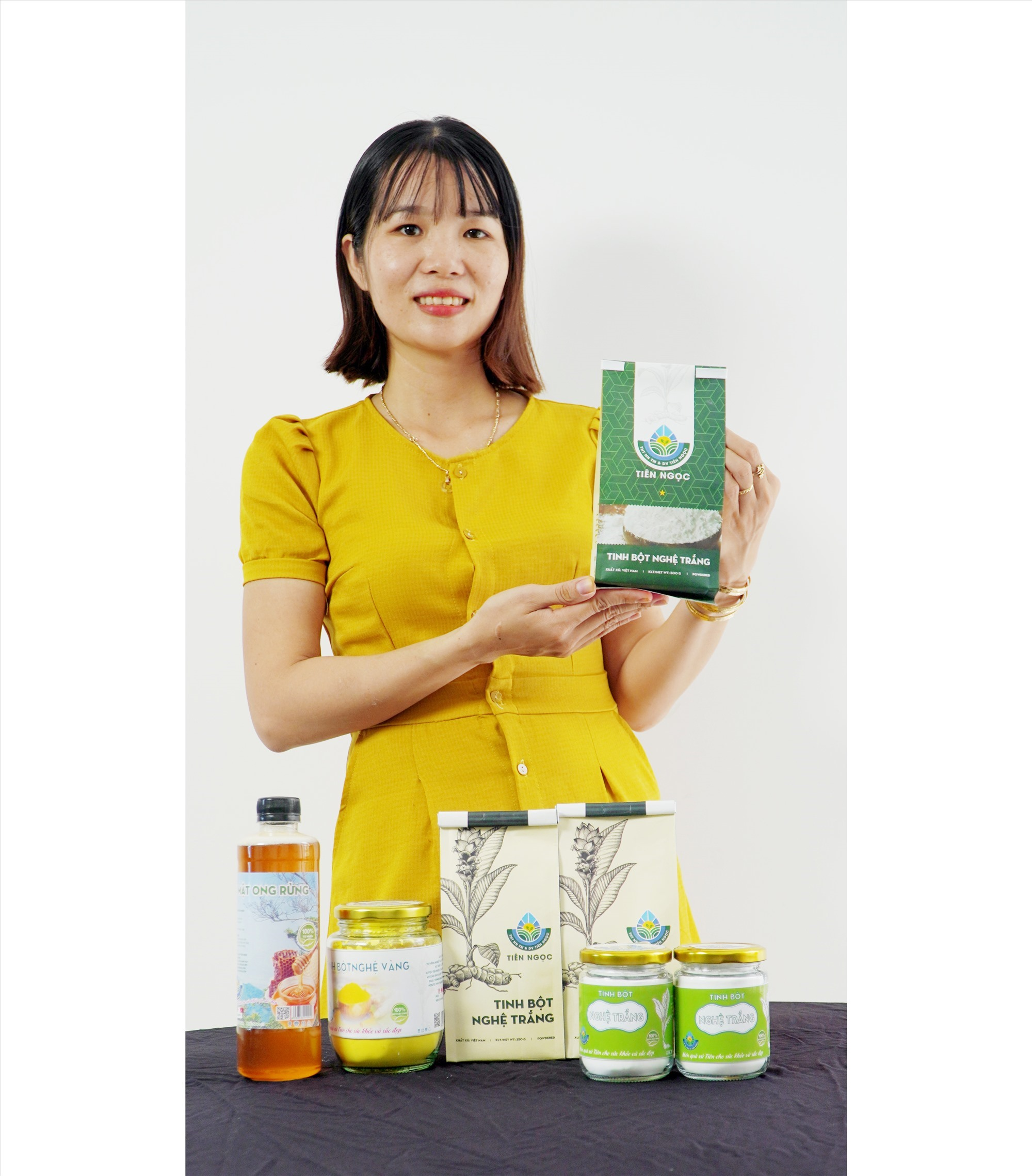 Pham Thi My Nuong and her products
