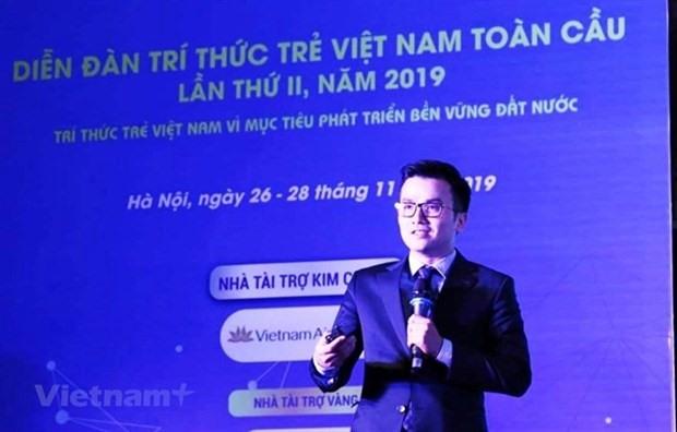 Associate Professor Tran Xuan Bach, 36, a lecturer at the Hanoi Medical University (Photo: VNA)