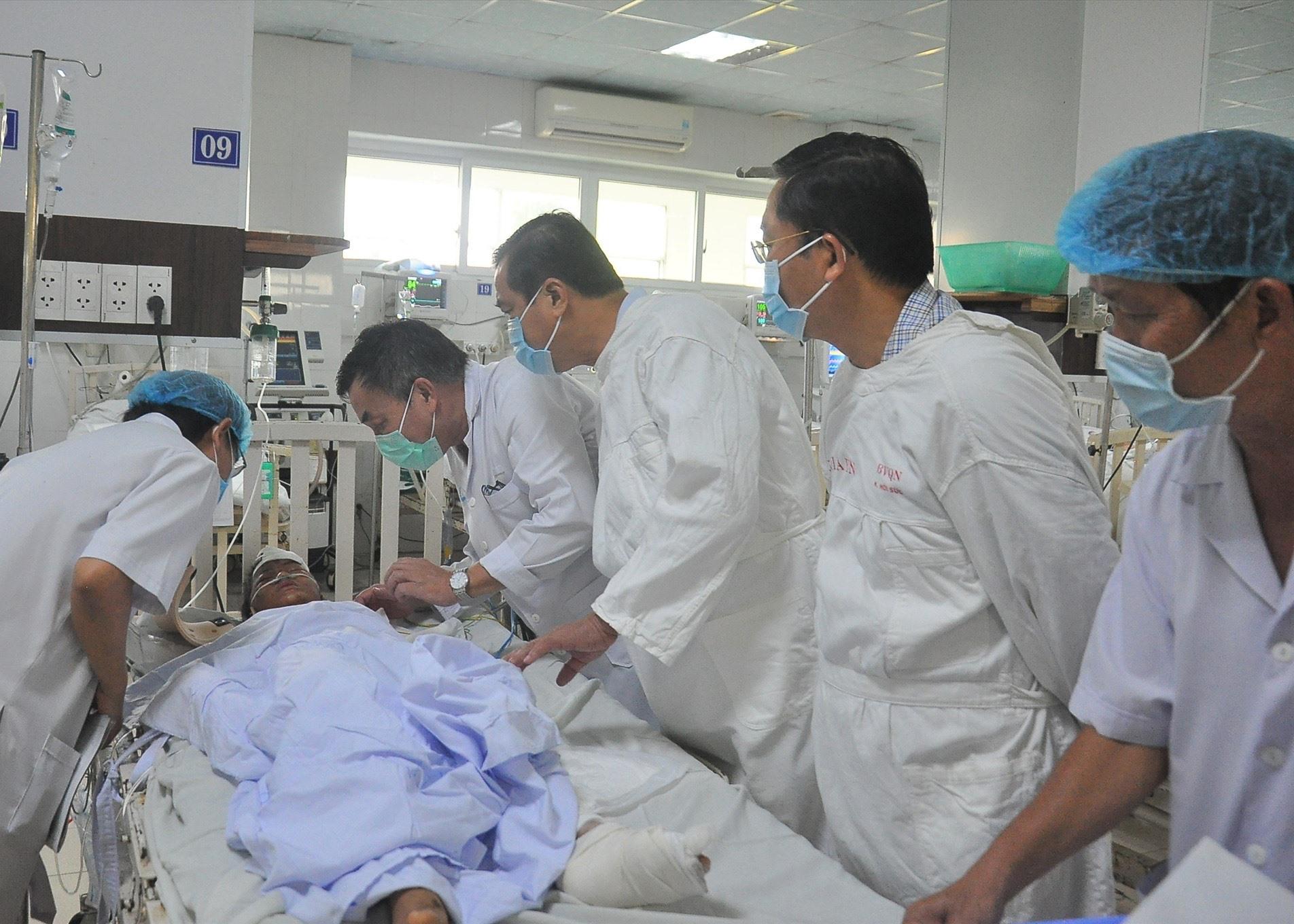 BV Đa khoa tỉnh đang thực hiện lộ trình xây dựng y tế thông minh, tạo diều kiện khám chữa bệnh tốt nhất cho người dân.Ảnh: H.A