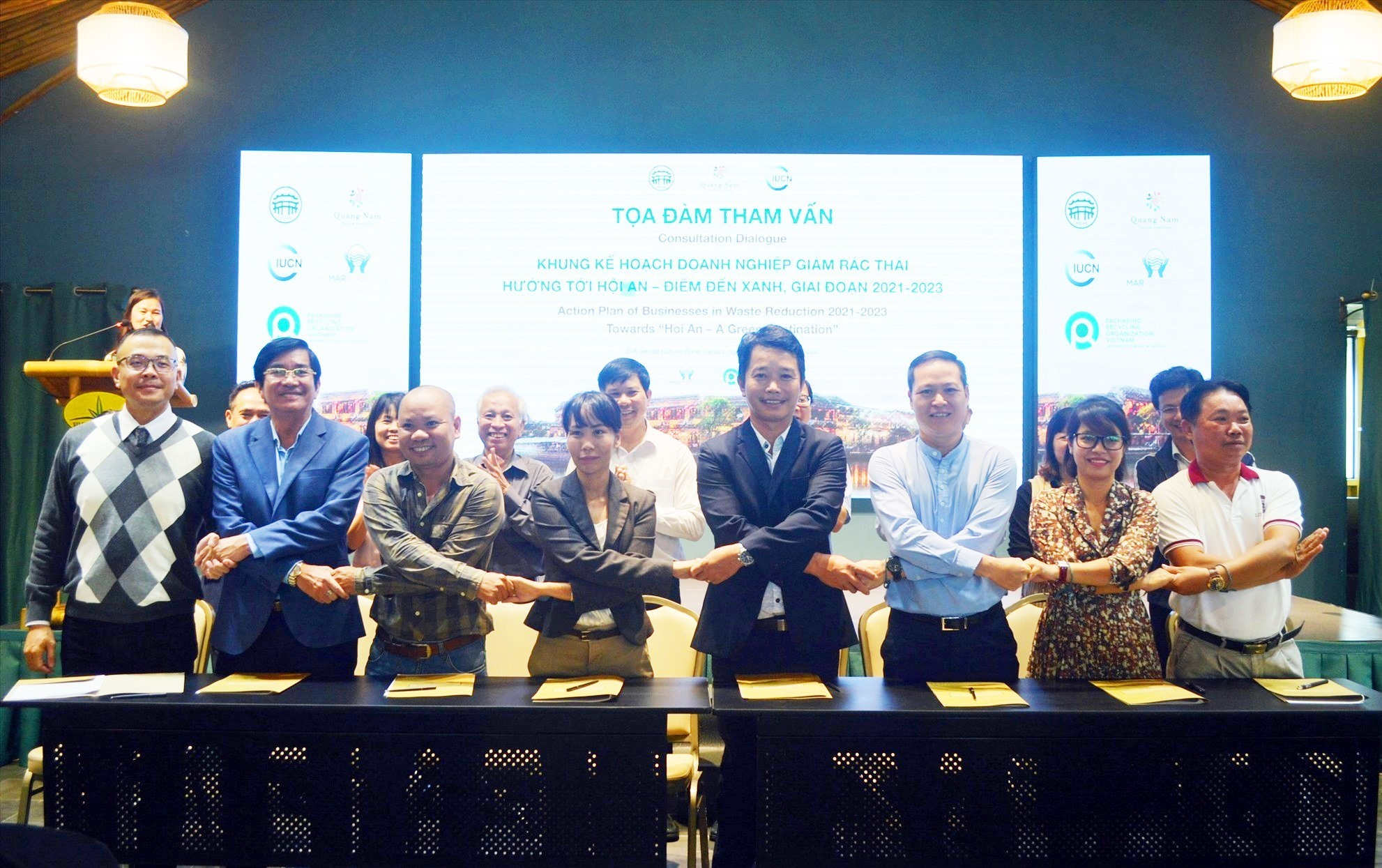 Commitment of zero plastic waste tourism by travel businesses in Hoi An city