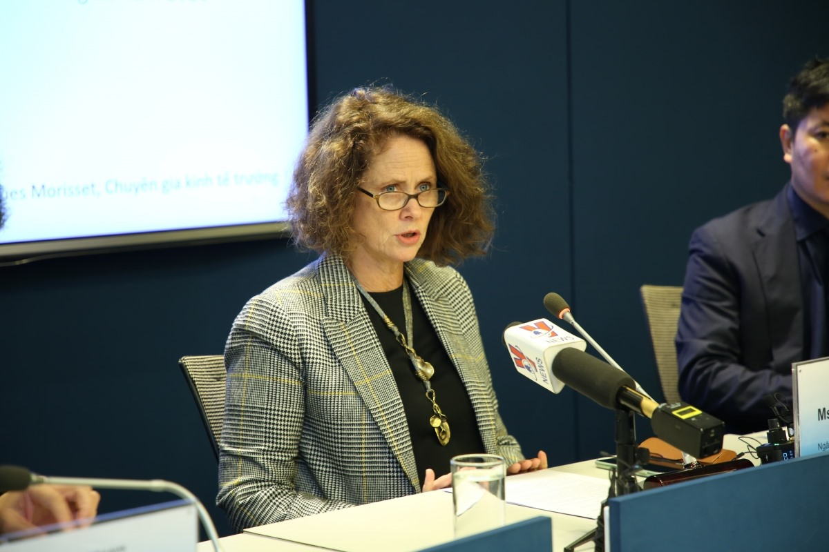 Carolyn Turk, World Bank Country Director for Vietnam