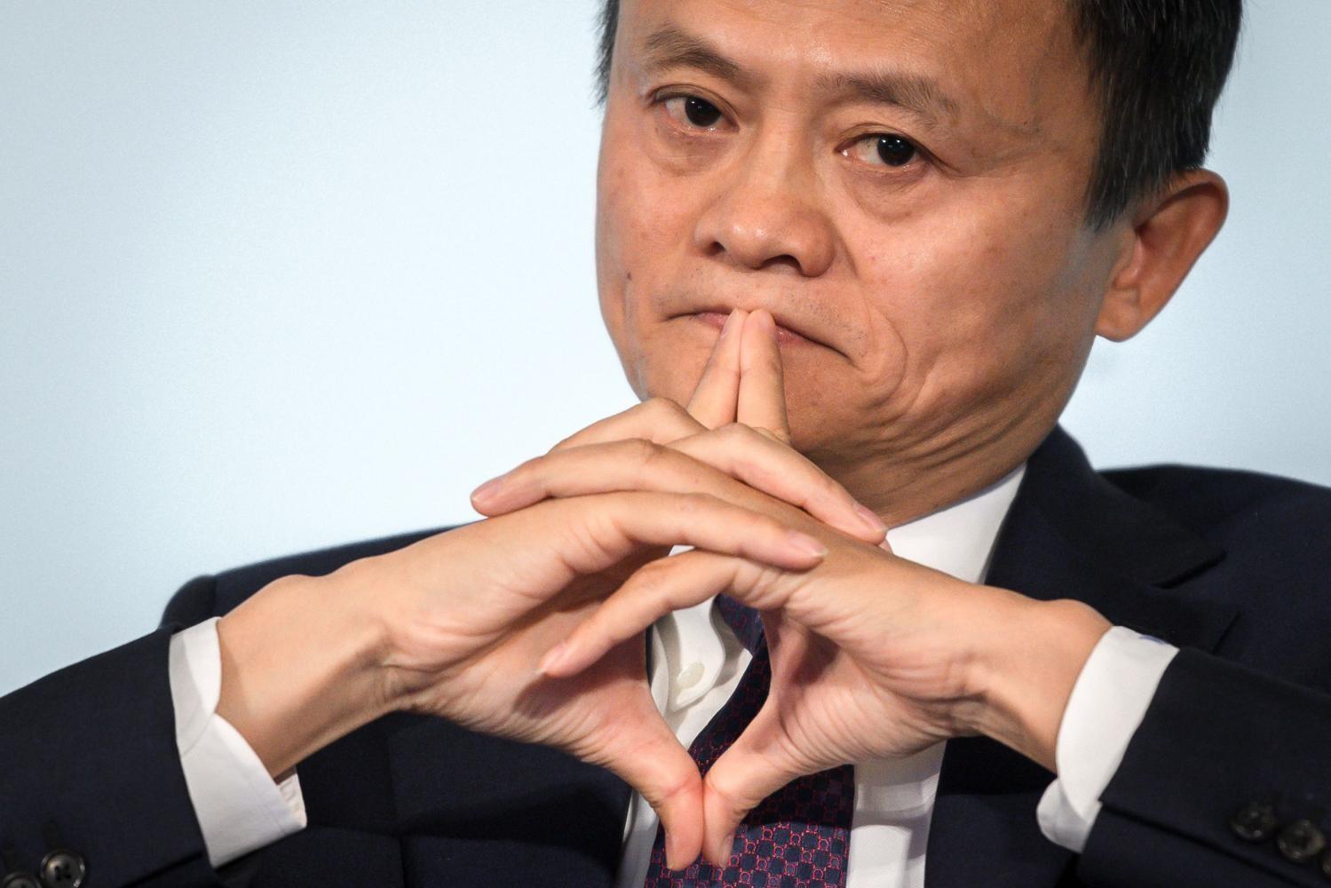 Giá trị tài sản của tỷ phú Jack Ma giảm 3,6 tỷ USD sau khi công ty Alibaba bị điều tra. Ảnh: Bangkok Post.