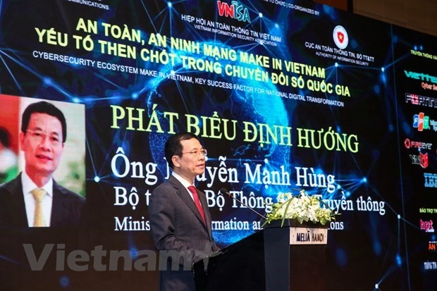 Minister of Information and Communications Nguyen Manh Hung (Source: VNA)