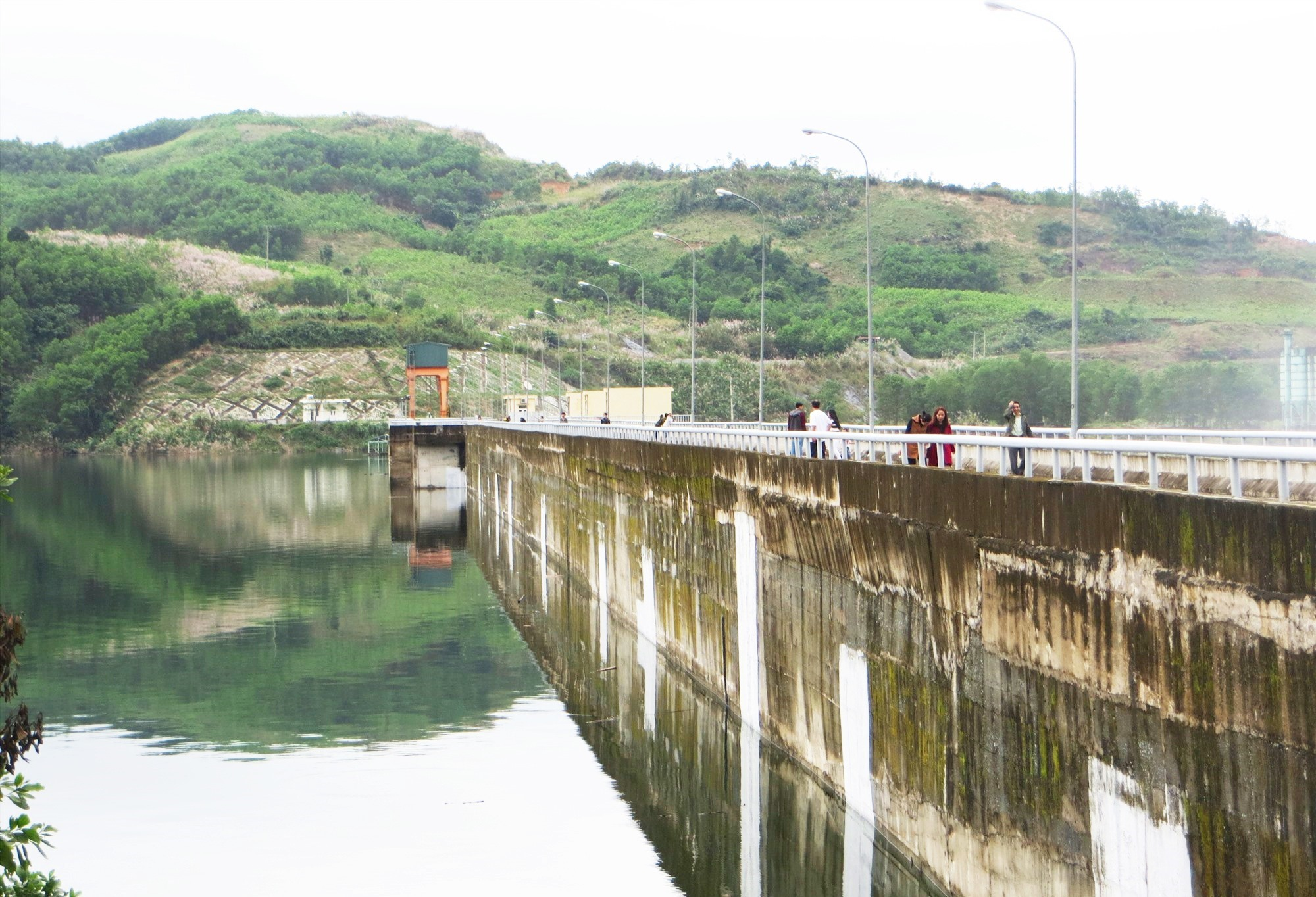 Khu vực thủy điện Sông Tranh 2 xảy ra động đất mạnh 2.8 độ richter vào sáng ngày 17.2.