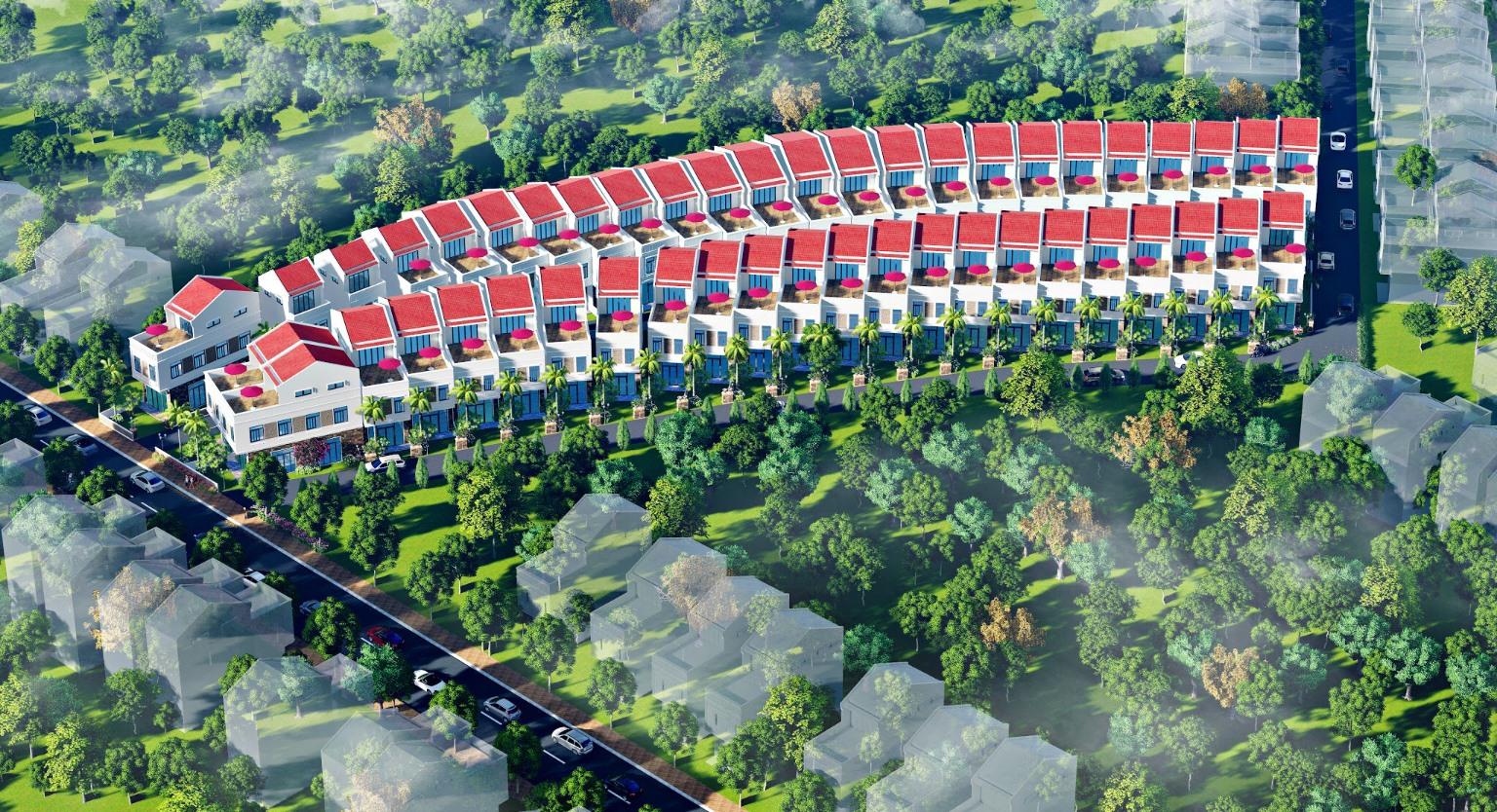 Khu dân cư mới Quế Sơn hút khách ngay từ những ngày đầu ra mắt.