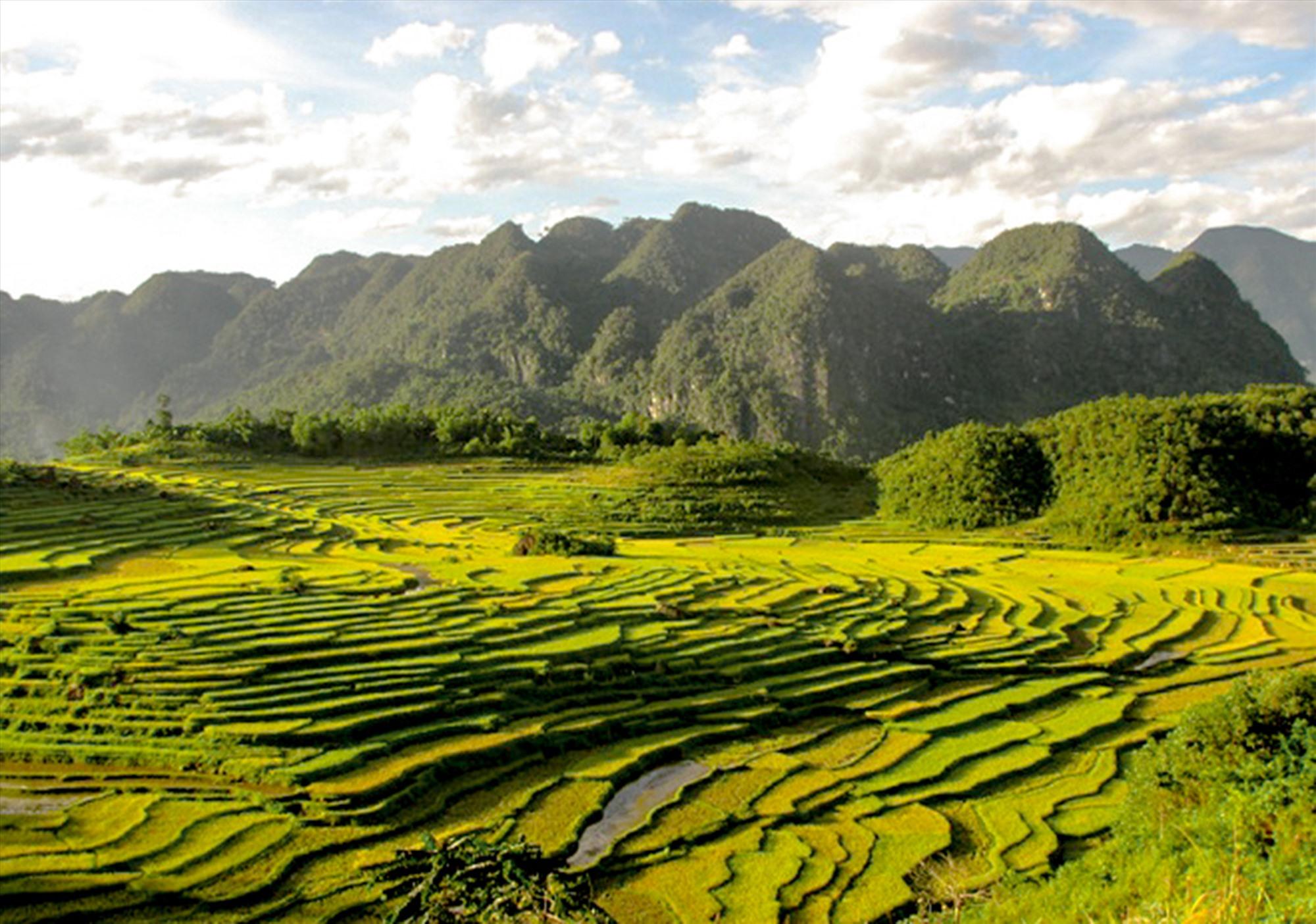 Khu bảo tồn thiên nhiên Pù Luông có ngọn núi cao nhất vùng với độ cao 1.700m.