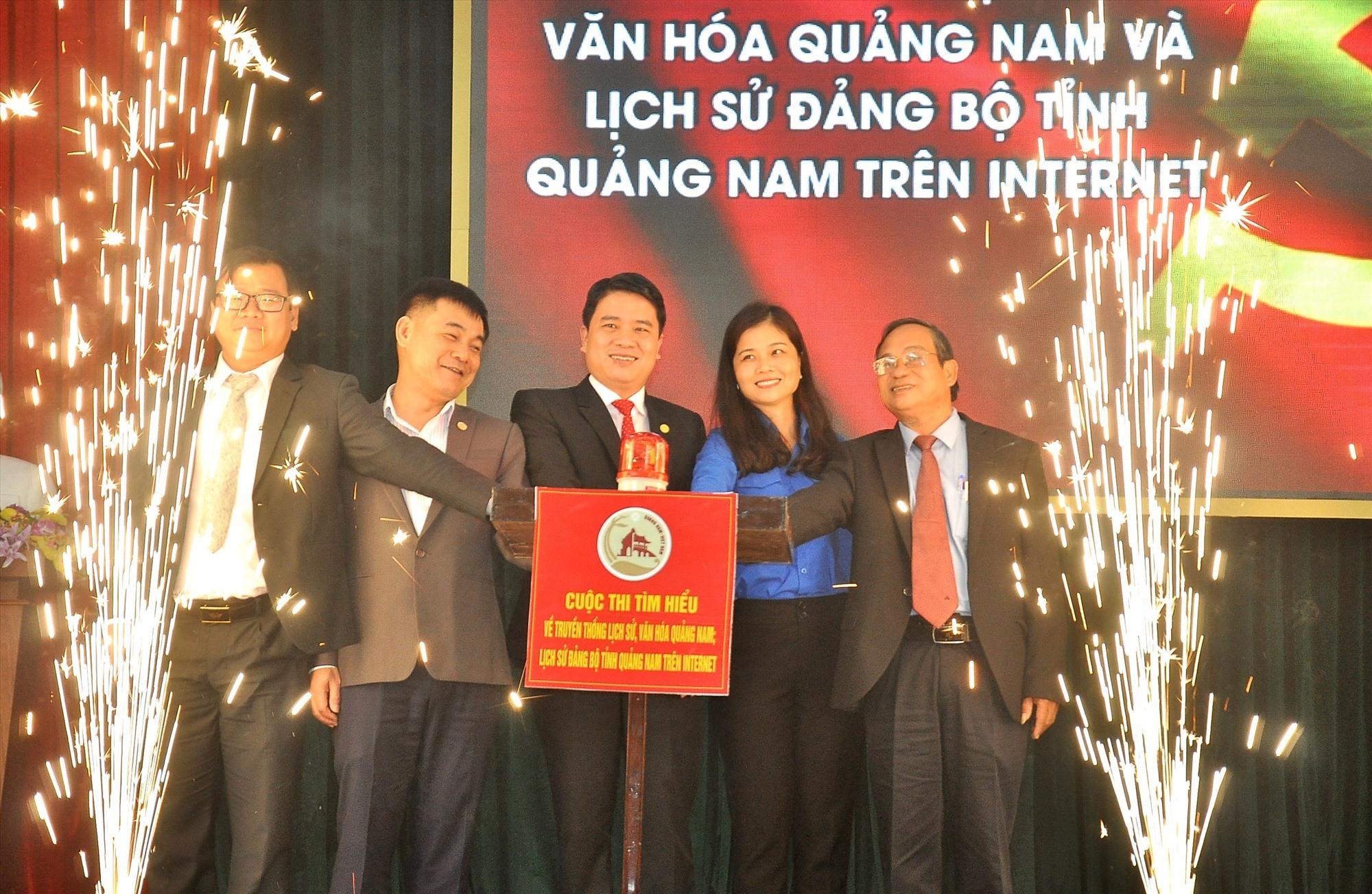 Phát động cuộc thi Tìm hiểu lịch sử, văn hóa, lịch sử Đảng bộ tỉnh Quảng Nam. Ảnh: V.A
