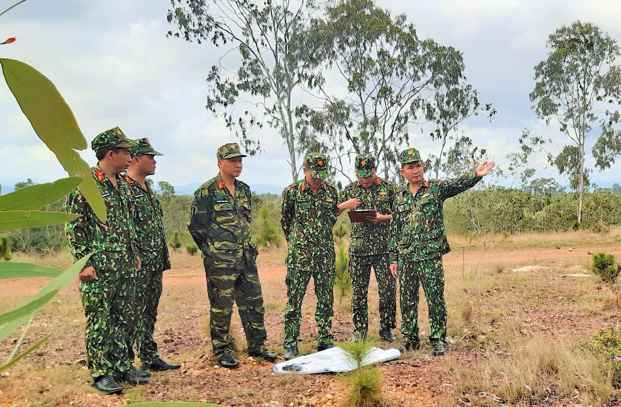 Công tác huấn luyện, sẵn sàng chiến đấu được LLVT Tam Kỳ hoàn thành xuất sắc hàng năm. Ảnh: X.P