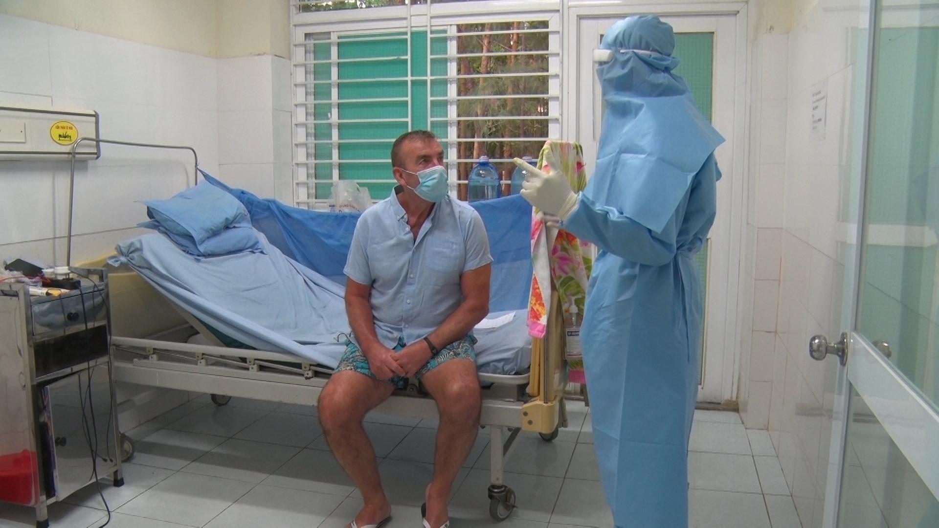 Diễn biến sức khỏe của bệnh nhân số 57 khá tốt, được theo dõi thường xuyên. Ảnh: Đ. ĐẠO