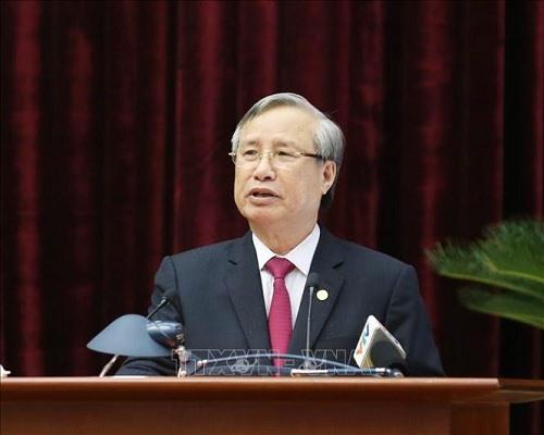 đồng chí Trần Quốc Vượng - Ủy viên Bộ Chính trị, Thường trực Ban Bí thư đã ký ban hành Hướng dẫn số 03-HD/TW hướng dẫn một số vấn đề cụ thể thực hiện Quy chế bầu cử trong Đảng