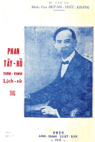 Sách sử của Huỳnh Thúc Kháng.