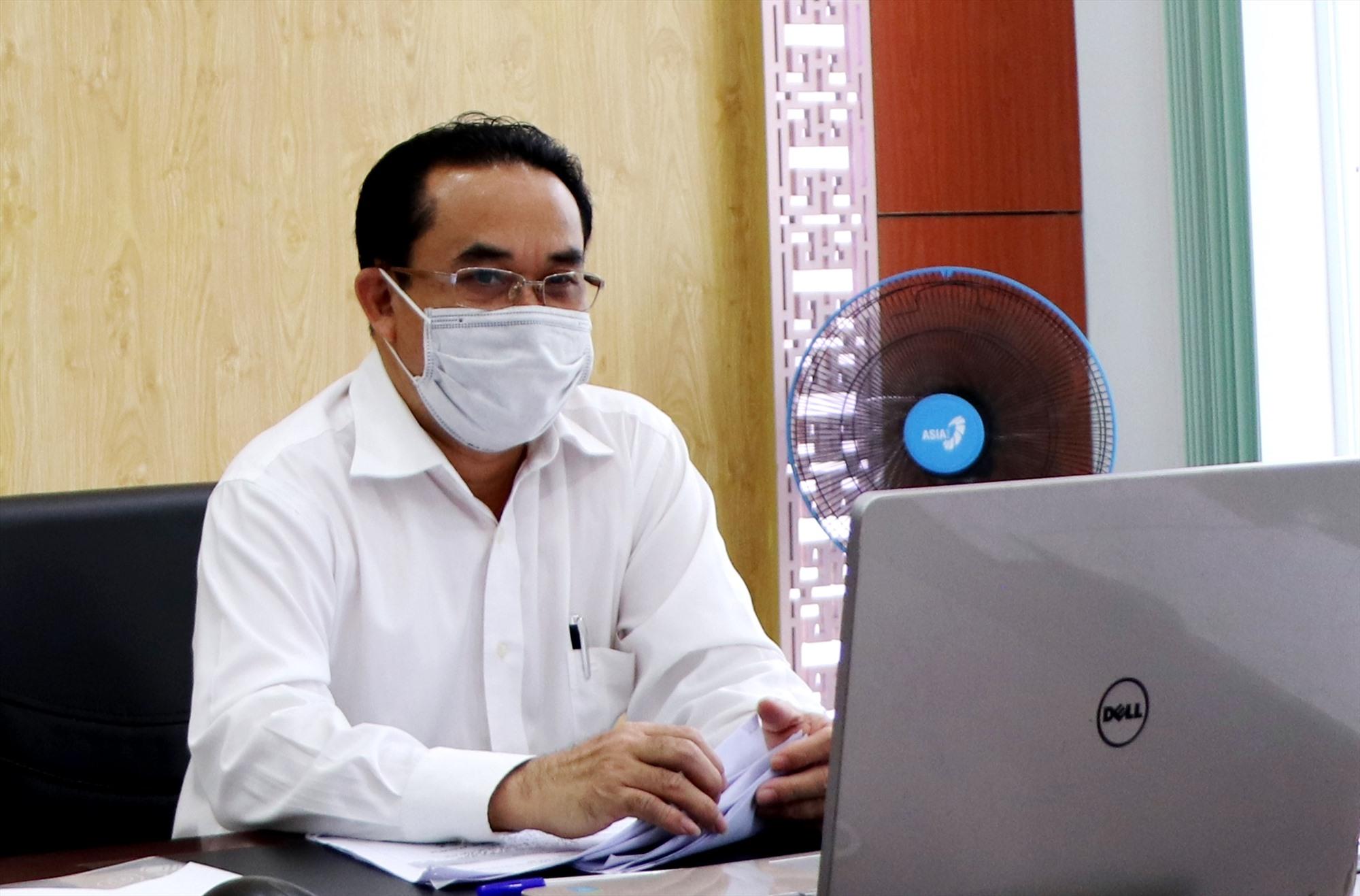 Ông Trần Anh Tuấn - Giám đốc Sở Nội vụ. Ảnh: N.C
