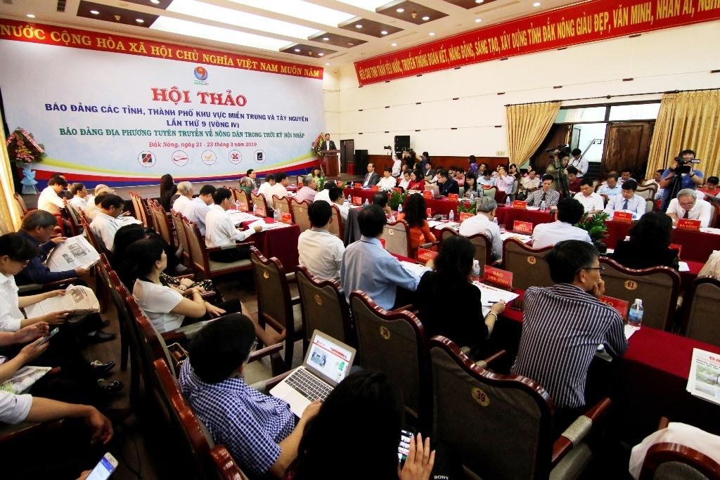 Một hội thảo báo Đảng khu vực Miền Trung - Tây nguyên