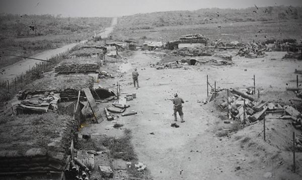 Trung đoàn 66 làm chủ căn cứ 42, ngày 24.4.1972. (Nguồn: http://tulieuvankien.dangcongsan.vn)
