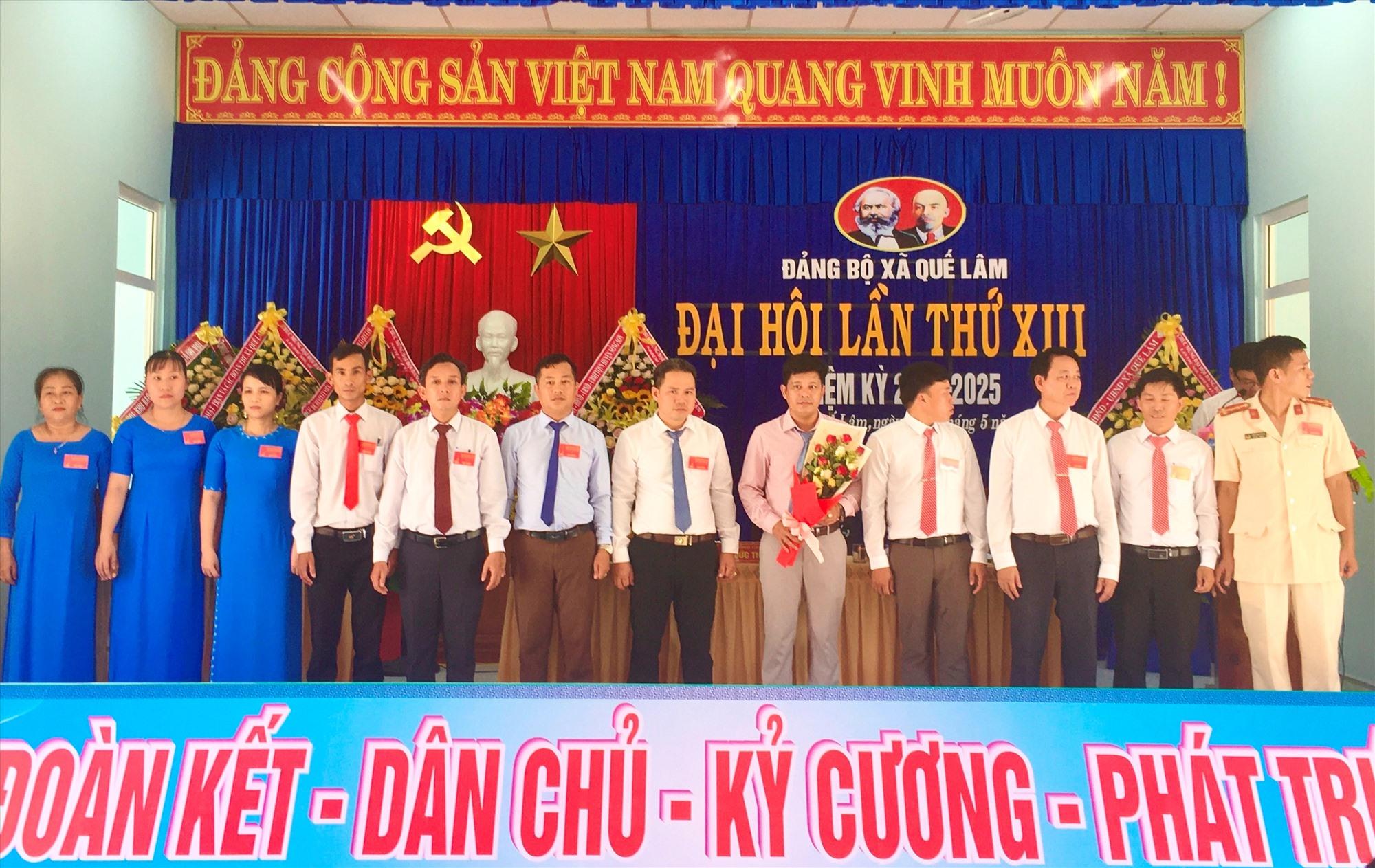Ban Chấp hành Đảng bộ xã Quế Lâm khóa XIII