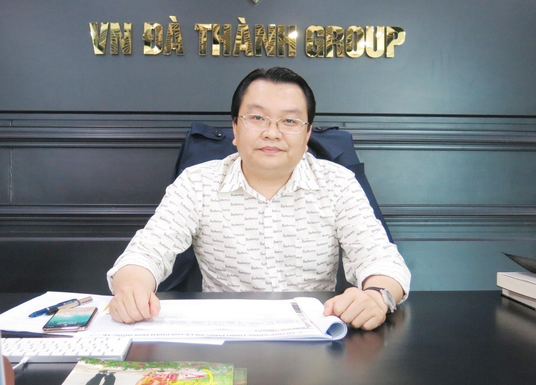 Ông Trần Quốc Bảo – Chủ tịch Hiệp hội Doanh nghiệp Quảng Nam, Chủ tịch HĐQT Tập đoàn VN Đà Thành. Ảnh: T.D