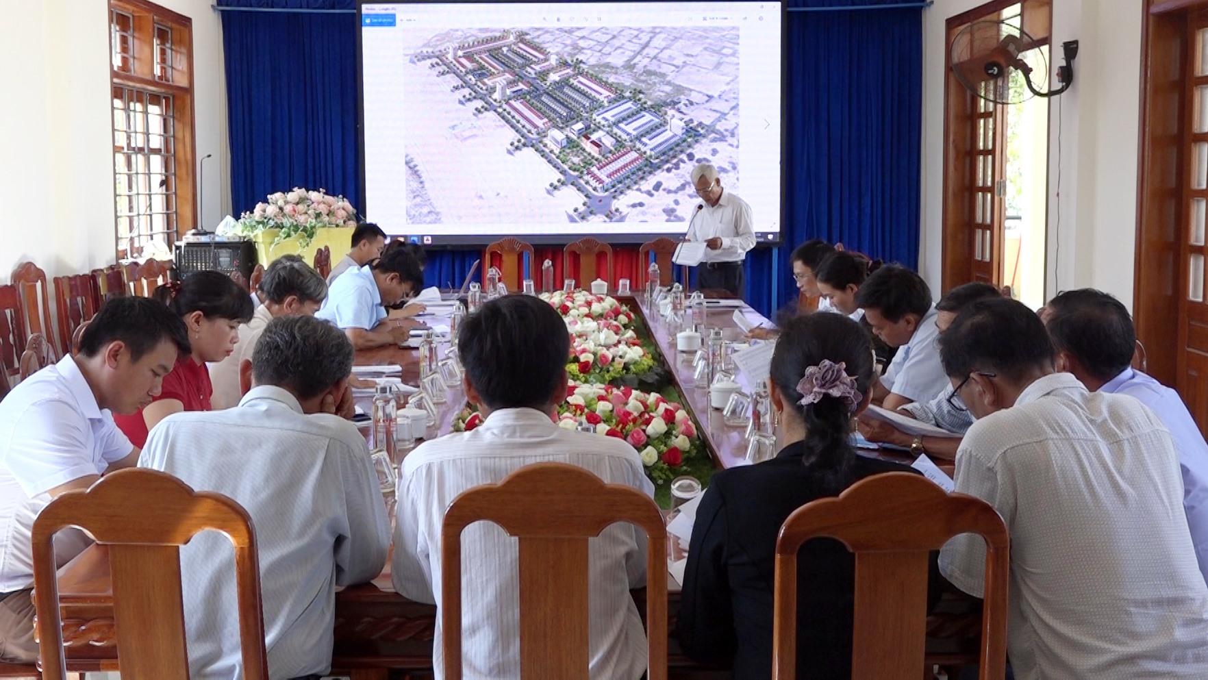 Khu tái định cư Trung tâm xã Bình Dương (giai đoạn 2) có tích 22,62 ha. Ảnh: MT.