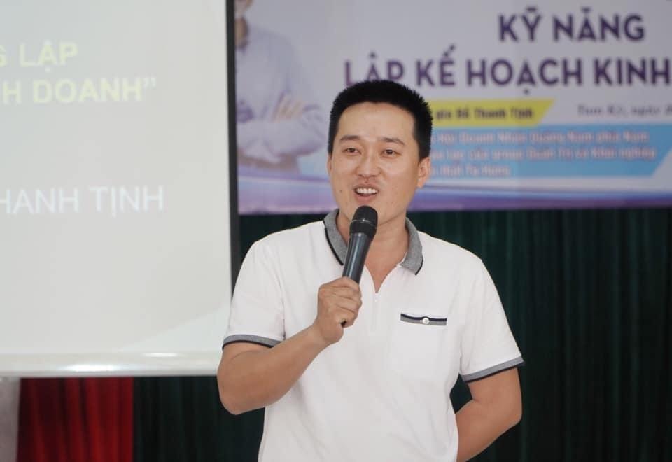 Nguyễn Bão Quốc - Phó Chủ tịch Liên đoàn Lãnh đạo và doanh nhân trẻ thế giới tại Đà Nẵng.