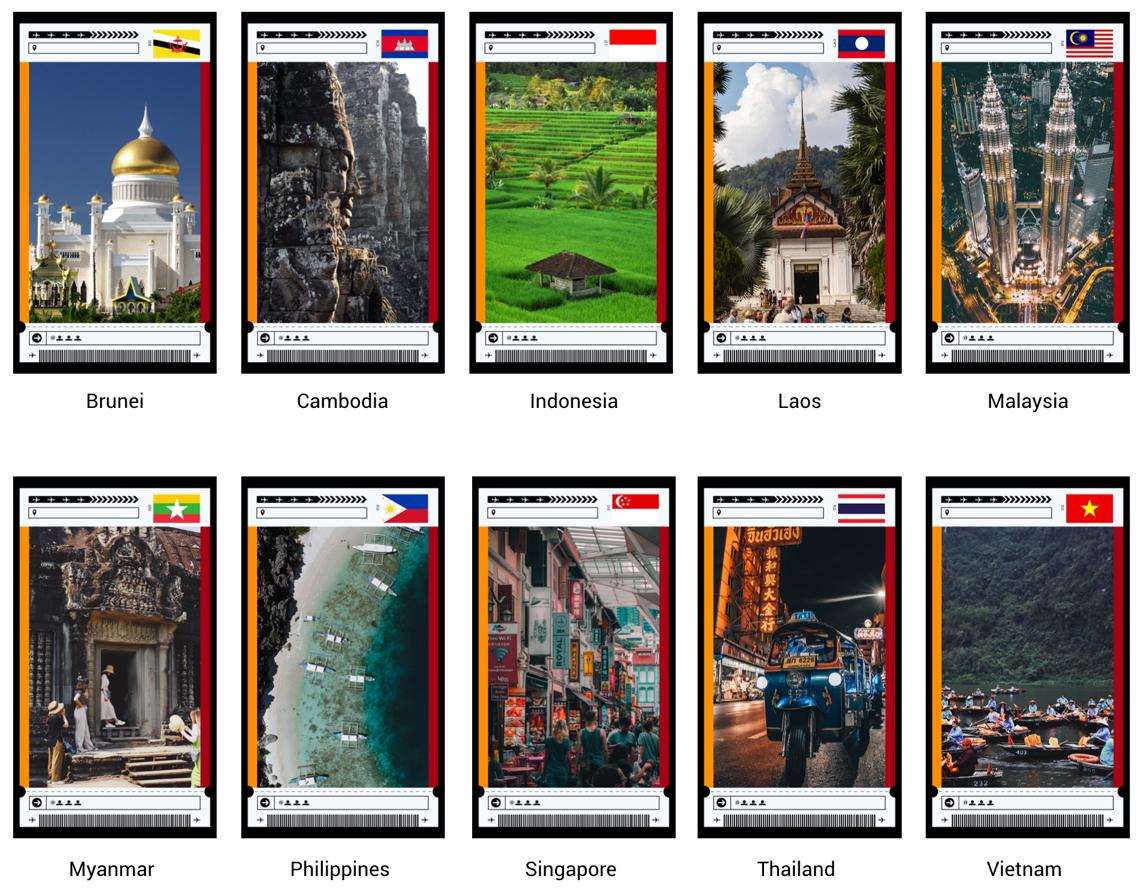 """Sáng kiến """"#TravelThrowback nhằm thúc đẩy du lịch Đông Nam Á nói chung, bao gồm từ 10 quốc gia khu vực"""