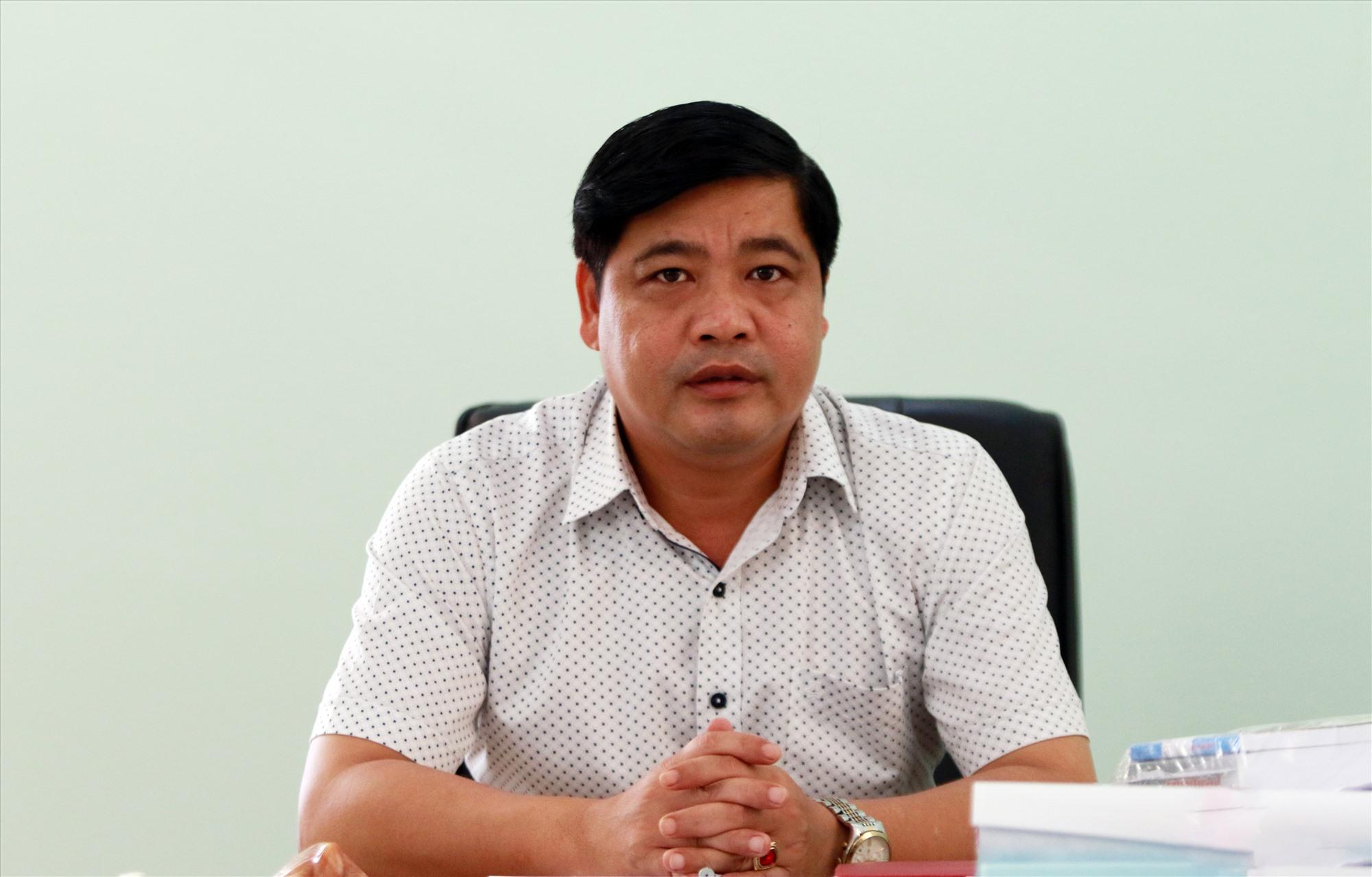 Bí thư Huyện ủy, Chủ tịch UBND huyện Phước Sơn - Nguyễn Mạnh Hà.