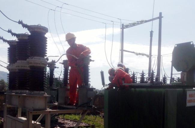 Trạm biếp áp 110 Đại Đồng đi vào hoạt động là bước ngoặt lớn của vùng tây Đại Lộc. Ảnh: T.D