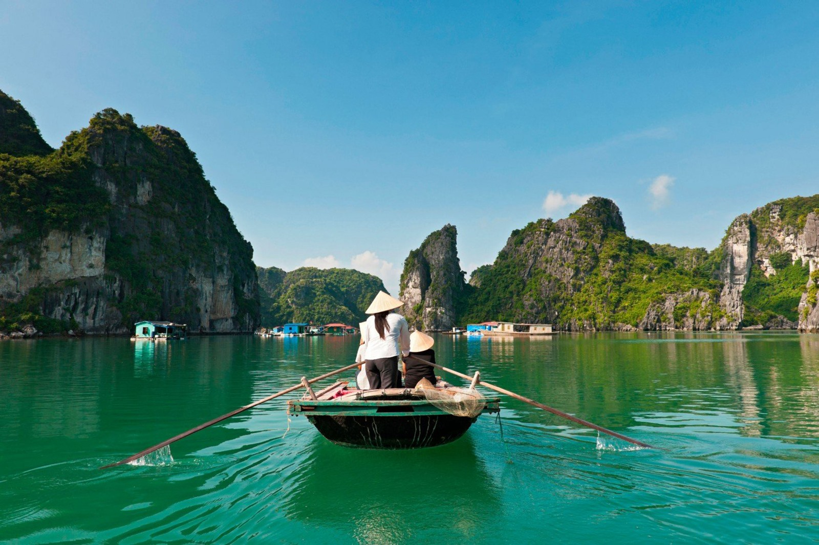 Ha Long Bay was recognized as a world natural heritage by UNESCO in 1994. It is considered as one of the best seacapes in the world.