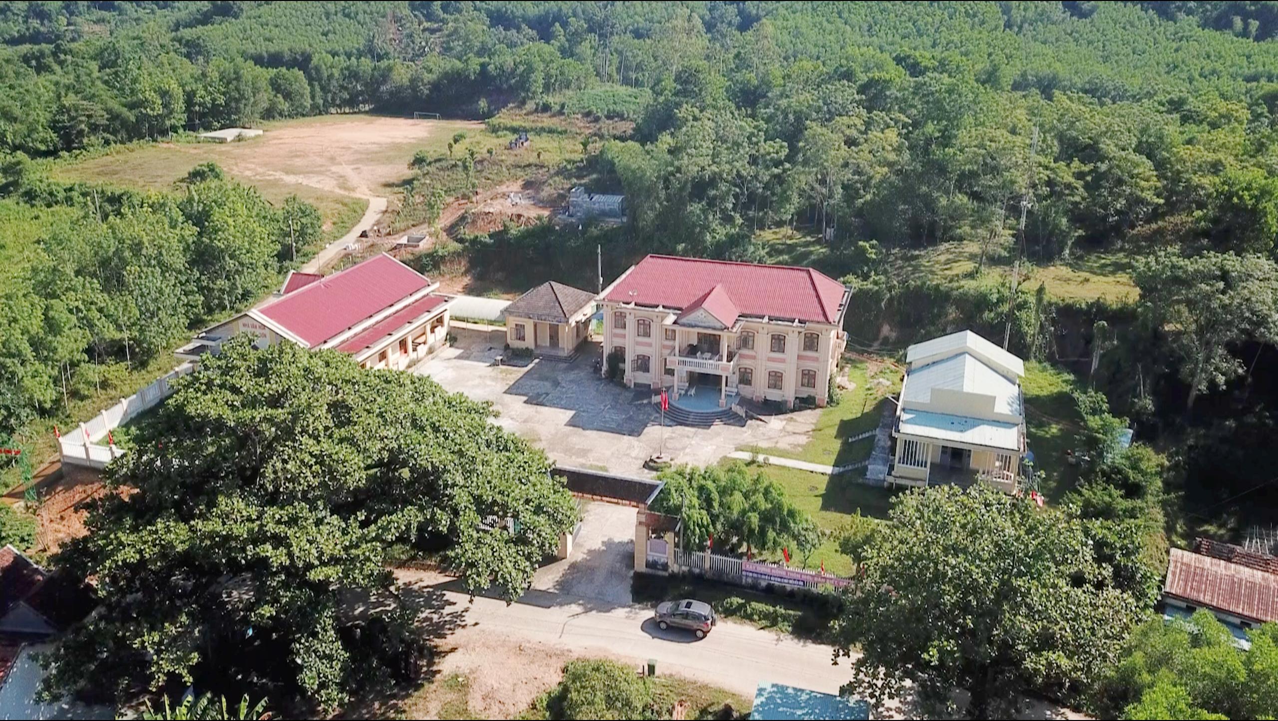 Diện mạo nông thôn mới Bình Sơn có nhiều thay đổi.