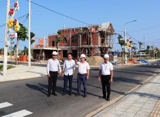 Khu dân cư Green Home thuộc Khu đô thị Điện Thắng đầy đủ hạ tầng và sổ đỏ trao tay cho cư dân. Ảnh: N.T.B