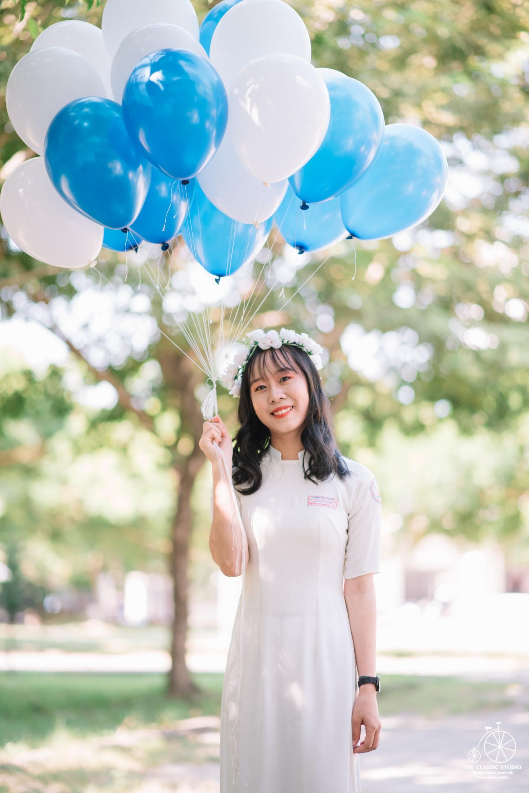 Nguyễn Thị Thanh Na - cô gái mê môn Lịch sử với giấc mơ làm luật sư tương lai. Ảnh: N.V.C.C